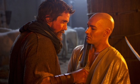 Bale and Edgerton face off in Exodus.