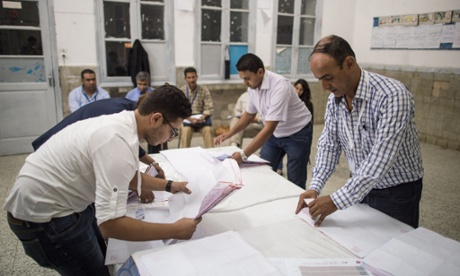 Tunisia's Islamist party Ennahda accepts defeat in elections