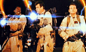 Ghostbusters cast in film