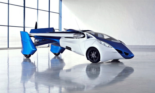 Technology Flying Cars Flying Car Prototype Unveiled