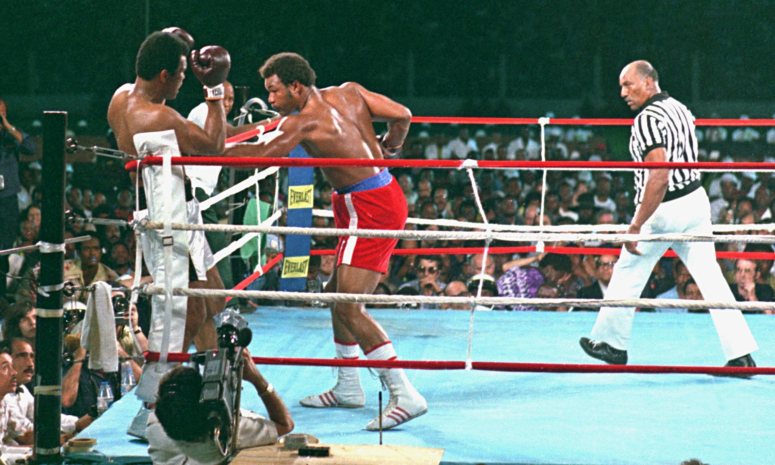 Gearge Foreman vs Muhammad Ali