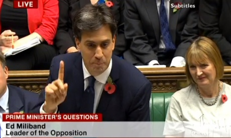 Harriet Harman at prime minister's questions