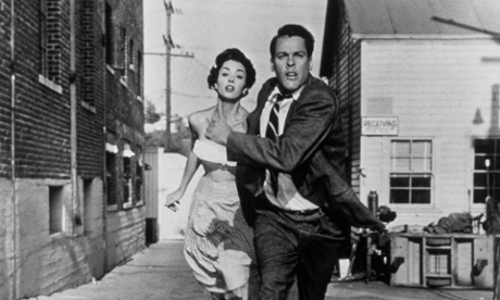 Insidious illusion ... Kevin McCarthy and Dana Wynter in Invasion of the Body Snatchers.