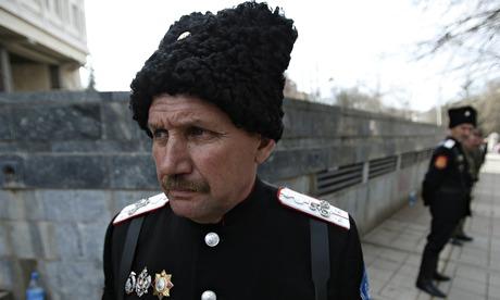 Прибытие русских казаков порождает страхи в Боснии
