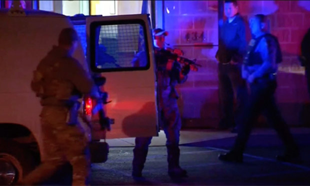 Suspected Pennsylvania police killer Eric Frein put behind bars - video