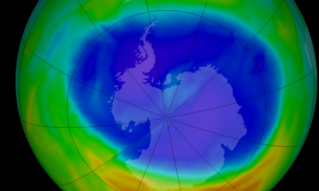 ozone hole layer