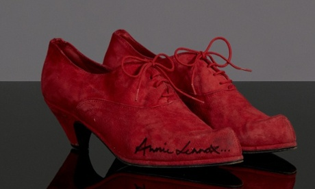 Celebrity shoe auction: a chance to own some famous footwear – in pictures