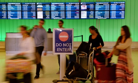 ebola airport visa