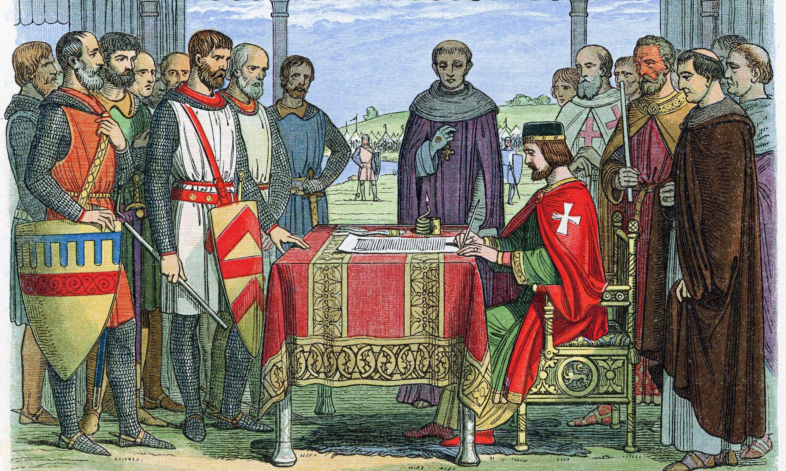 magna charta in british society As might be expected, the text of the magna carta of 1215 bears many traces of  haste,  in feudal society, the king's barons held their lands `in fee' (feudum) from  the king,  john, by the grace of god king of england, lord of ireland, duke of.