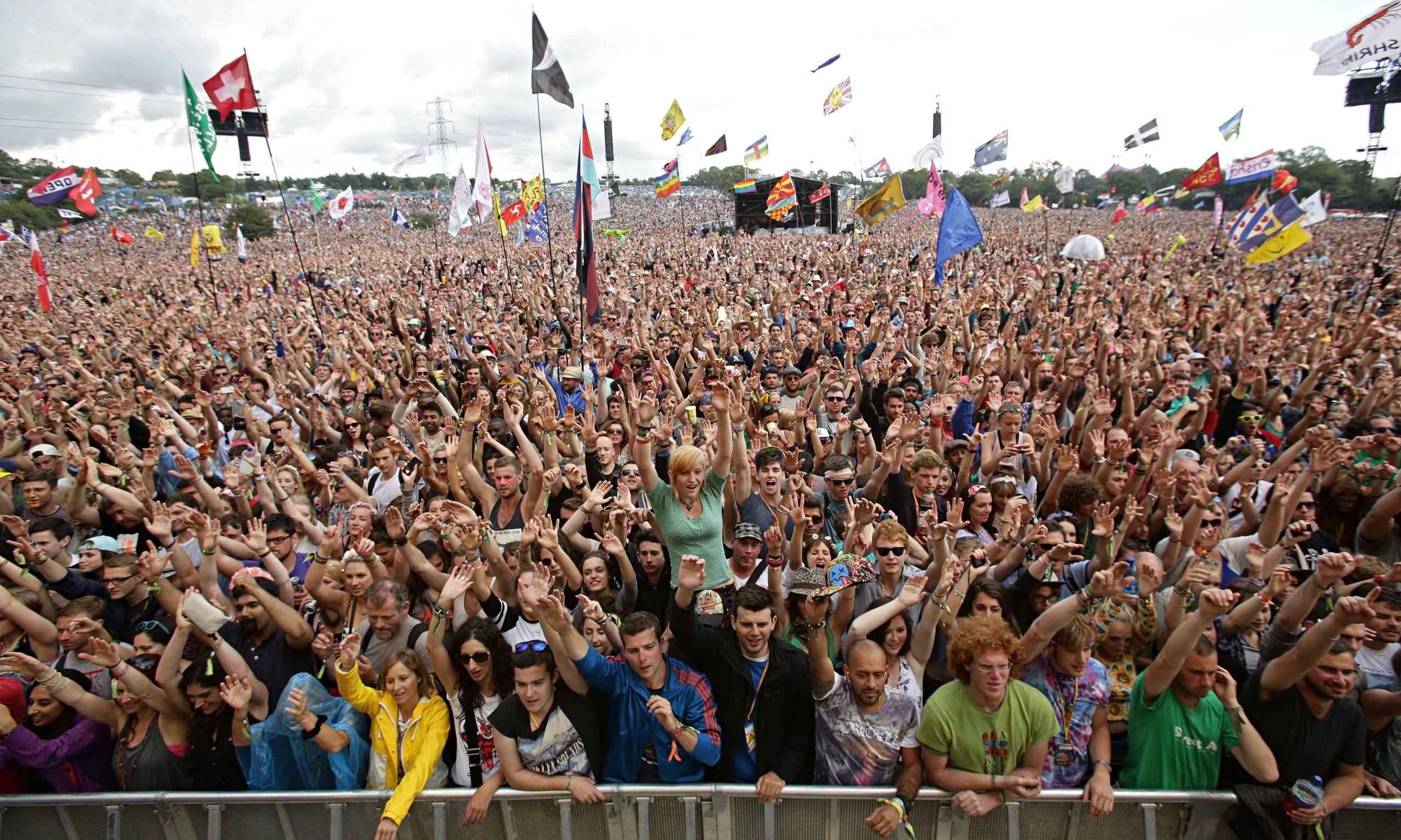 Glastonbury Tents 2015 Glastonbury Festival 2015