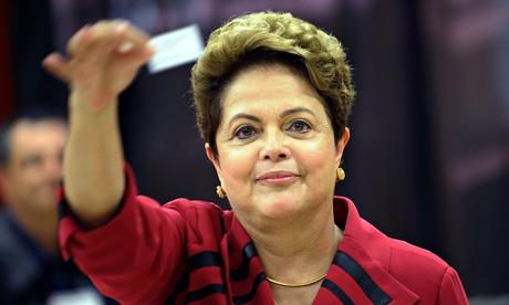 Dilma Rousseff votes