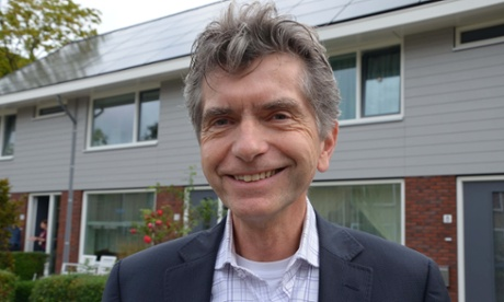Pierre Sponselee, director of Woonwaard housing association.