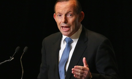 Prime minister Tony Abbott: a conservative politician facing venerable institutions.