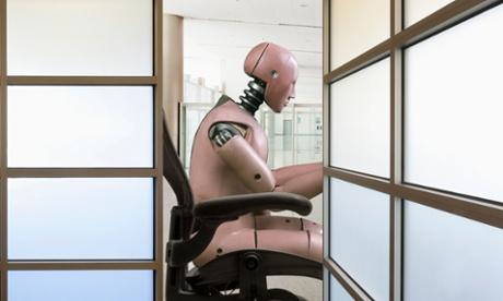 robot desk