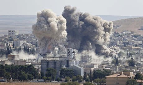 New air strikes on Isis as pressure builds to win battle for Kobani