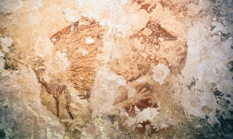 35,000 Year-Old Indonesian Cave paintings Suggest Art Came Out of Africa