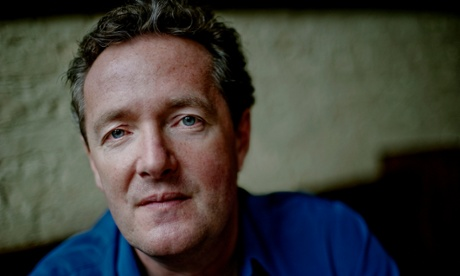Piers Morgan at The Scarsdale Pub in Edwardes Square, Kensington