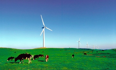 Pacific Hydro Codrington Wind Farm in south western Victoria