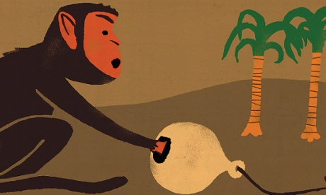 Oliver Burkeman: monkey trap