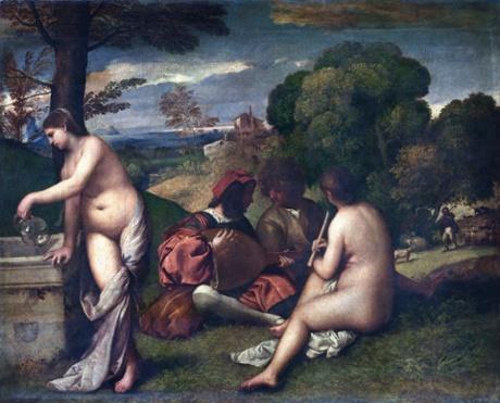 Titian's Concert Champêtre