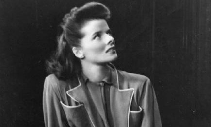 Katharine Hepburn ... Dressing-gown wearer par excellence.