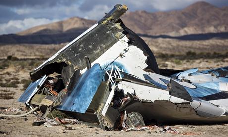Virgin Galactic pilot tells of being thrown clear as spacecraft broke up