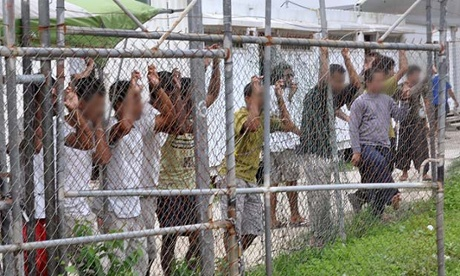 Asylum seekers at Manus Island