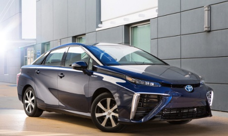Toyota to begin selling hydrogen fuel cell car Mirai for first time