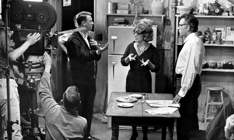 MIKE_NICHOLS on the set of Who'se Afraid of Virginia Woolf