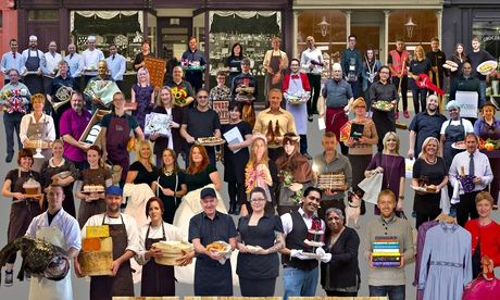Sir Peter Blake gives High Street Heroes the Sgt Pepper treatment...