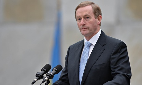 Irish PM\'s party suffers dip in popularity after water charge protests...