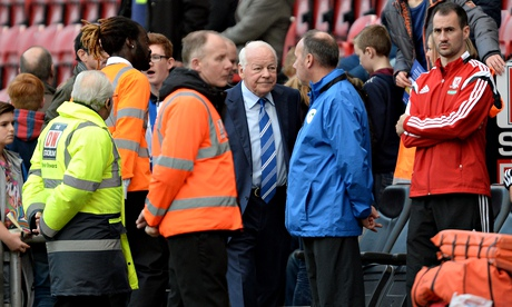 Dave Whelan in threat to quit Wigan if FA accuses him over alleged racism...