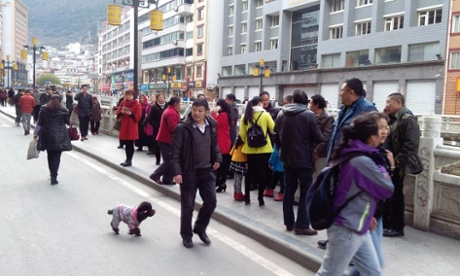 Two dead in China earthquake...