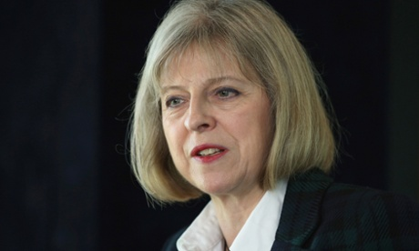 Theresa May moves to give police powers to identify internet users...