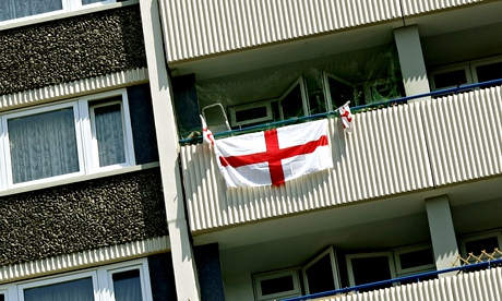 England flags, white vans and prejudice