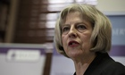 British Home Secreatry Theresa May announces new counter terrorism law