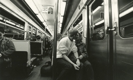 Lewis Morley's shot of a couple on the Paris Metro in the early 60s.