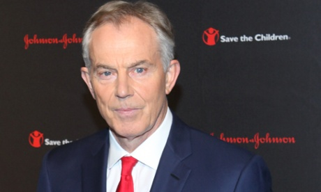 Tony Blair at the Save the Children Illumination Gala in New York City