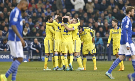 Schalke 0-5 Chelsea – Champions League (Group G)  | Extended Highlights