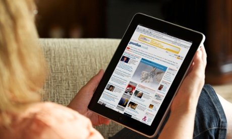 Why is there a 'massive deceleration' in tablet shipments?
