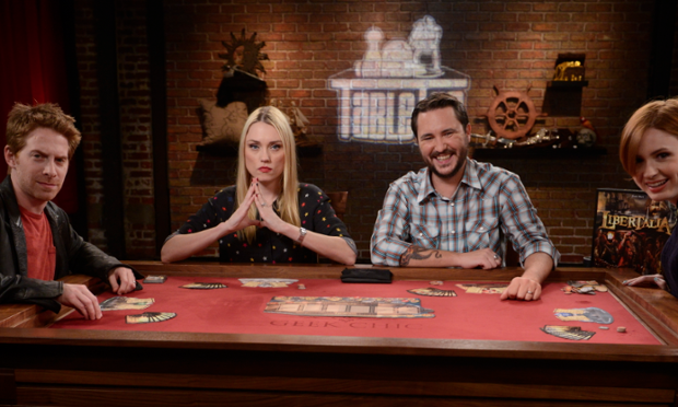 Wil Wheaton plays the board game Libertalia with guests on TableTop.