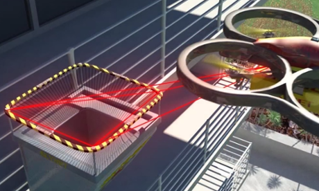Skynet drone mailbox video