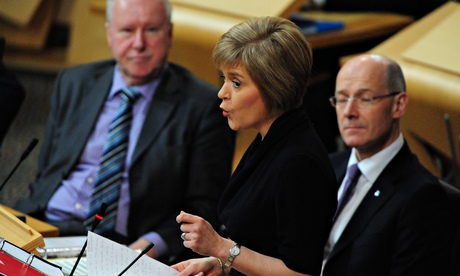 The SNP\'s negative response to Smith could set it adrift from Scottish people...
