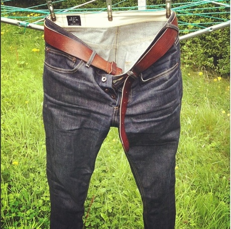 Cameron Stewart's Huit jeans