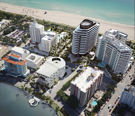 miami Faena Miami Beach development artist's impression