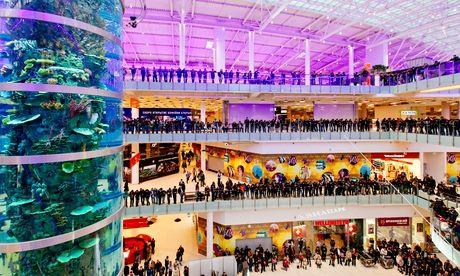 Крупнейший торговый центр Европы открывается в Москве в разгар рублевого кризиса
