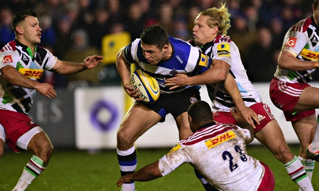 Bath 25-6 Harlequins   Premiership match report