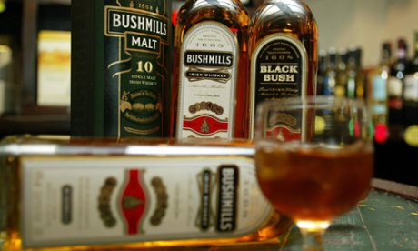 Diageo swaps Bushmills whiskey for Don Julio tequila