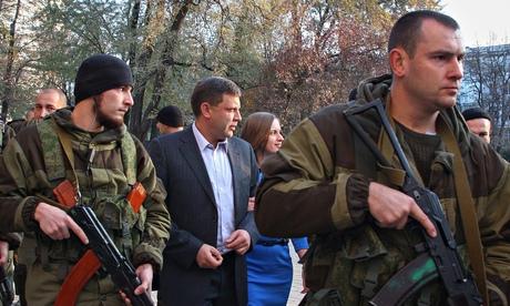 Россия предлагает Украине  остановить военную операцию из-за  результатов повстанческих выборов