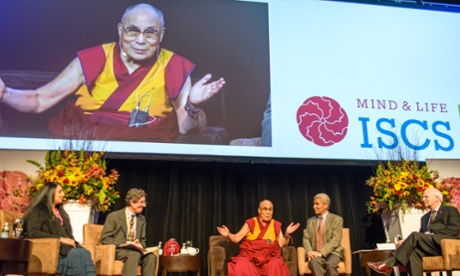 Dalai Lama enlightens and enraptures contemplative scientists in Boston
